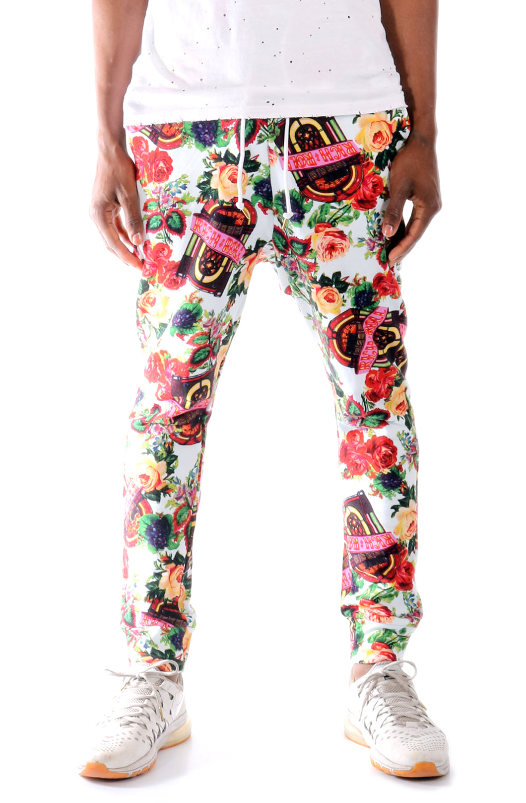 Joyrich Rich & Roll Floral Sweat Pants (JOYH343PT)