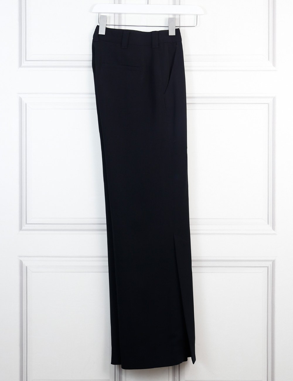 ALC black Miles wide leg trousers 8Uk