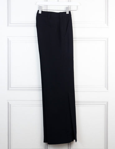 ALC black Miles wide leg trousers 8Uk-My Wardrobe Mistakes