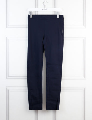 Acne blue tailored trousers with slits at the ankles 6Uk