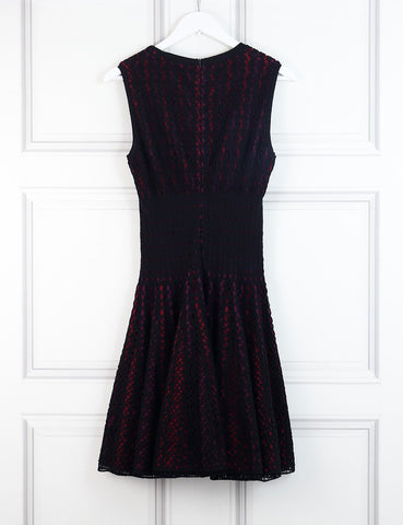 ALAIA Sleeveless skater dress