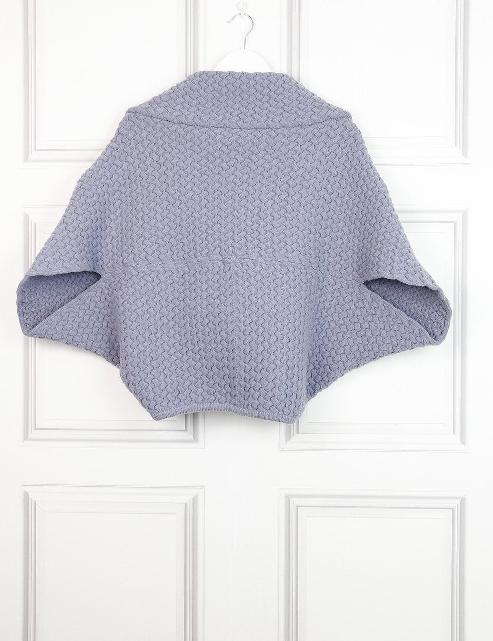 Alaia lavender woollen bolero jacket 12 UK- My Wardrobe Mistakes