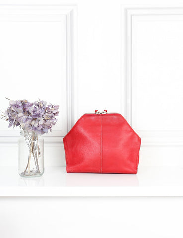 ALEXANDER MCQUEEN BAGS One size / Red ALEXANDER MCQUEEN Red clutch bag