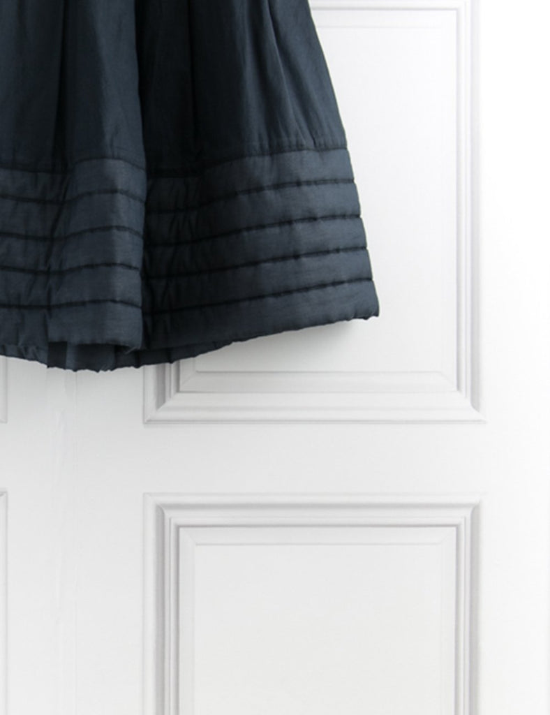 ALEXANDER MCQUEEN CLOTHING Skirt with quilted hem