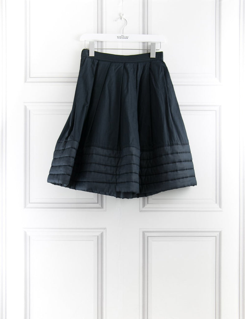 ALEXANDER MCQUEEN Skirt with quilted hem