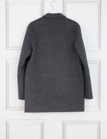 ALEXANDER WANG CLOTHING 10UK-42IT-38FR / Grey ALEXANDER WANG Wool and Cashmere Knee-Length Coat