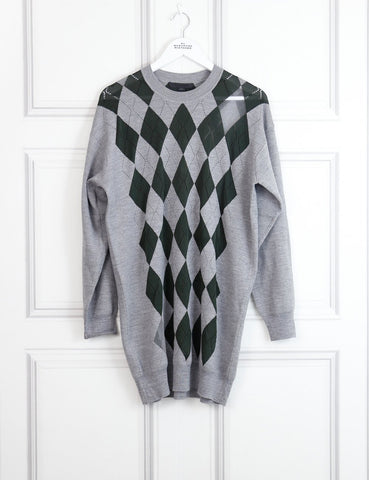 Alexander Wang multicolour pullover dress with sheer details 10 Uk- My Wardrobe Mistakes