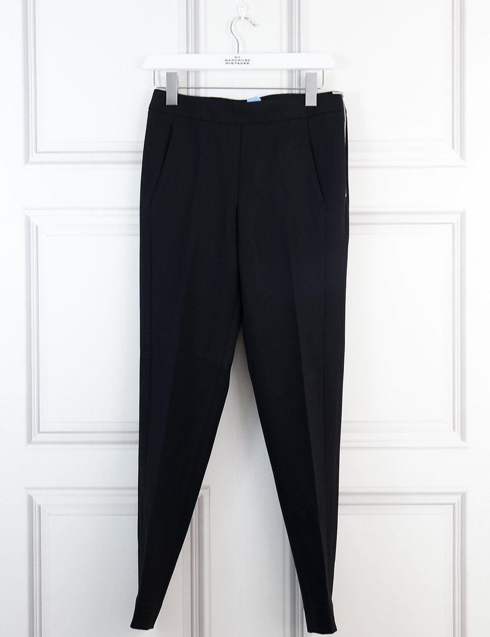 Amanda Wakeley black peg pants 8Uk