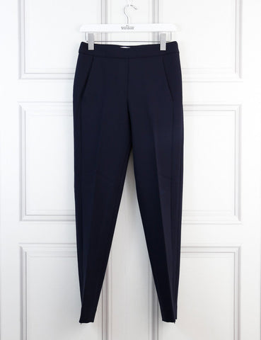 Amanda Wakeley blue peg pants 8Uk