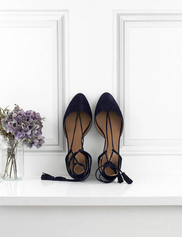 AQUAZZURA Boheme Block-heel Pumps