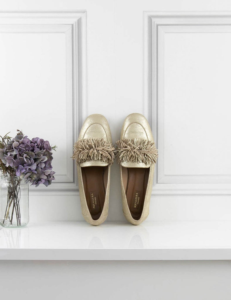 AQUAZZURA SHOES Wild loafer shoes