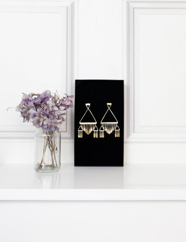 AURELIE BIDERMANN ACCESSORIES One size / Gold AURELIE BIDERMANN Vera gold-plated earrings