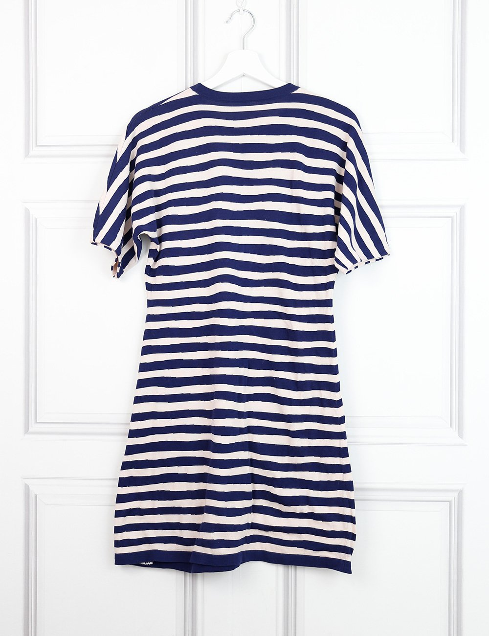 Balenciaga multicolour striped T-shirt dress 10 UK- My Wardrobe Mistakes