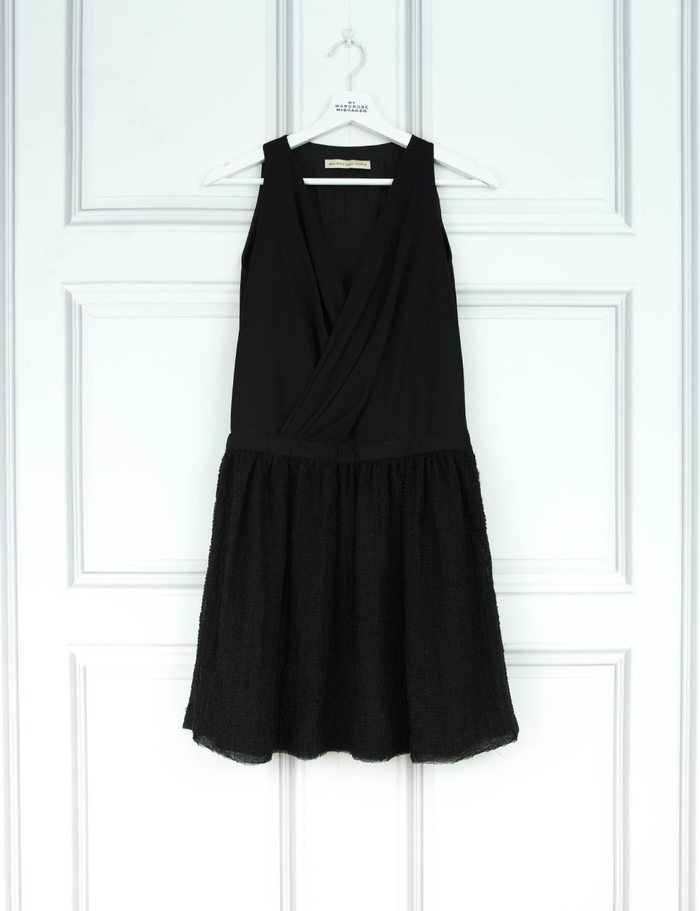 BALENCIAGA CLOTHING Delicate a-line dress with tulle