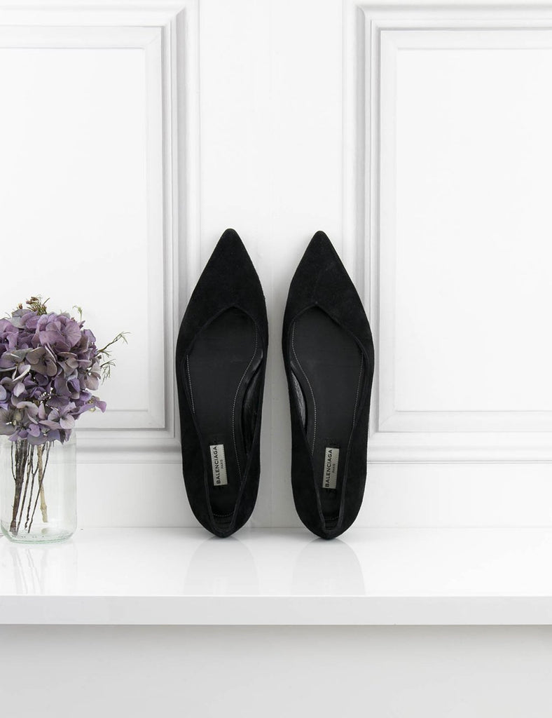 BALENCIAGA SHOES Pointy flat shoes
