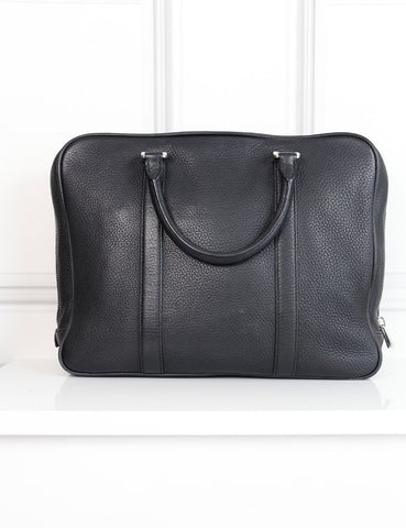 Bally black leather document holder- My Wardrobe Mistakes