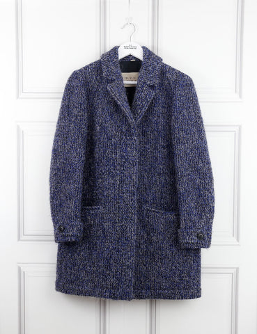 Burberry Brit blue wool blend coat 8UK- My Wardrobe Mistakes