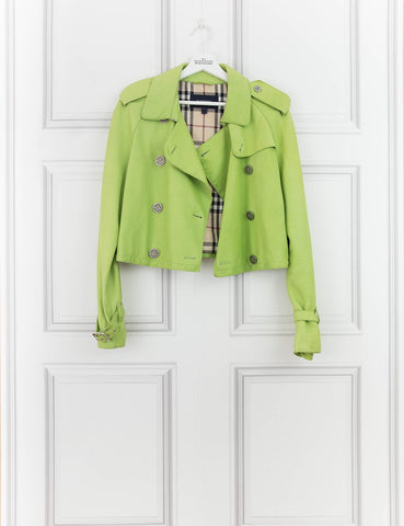 BURBERRY CLOTHING Cropped jacket