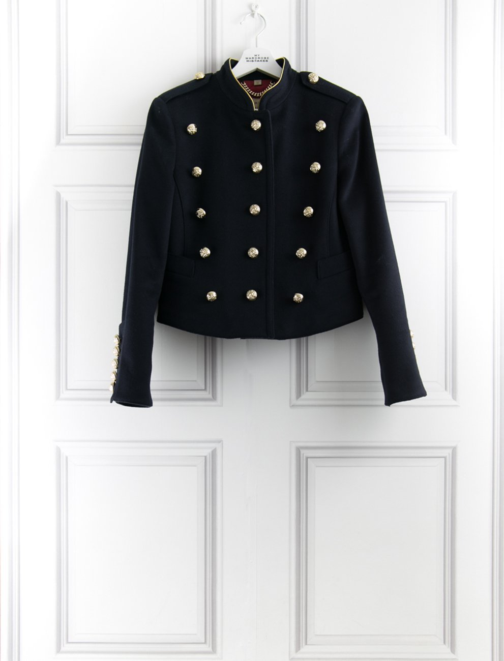 BURBERRY CLOTHING Military jacket- My Wardrobe Mistakes