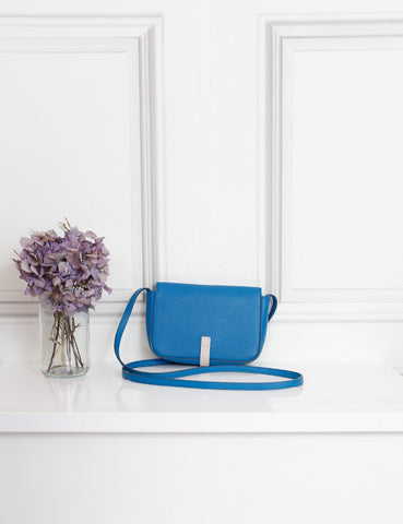 Celine blue strap clutch- My Wardrobe Mistakes