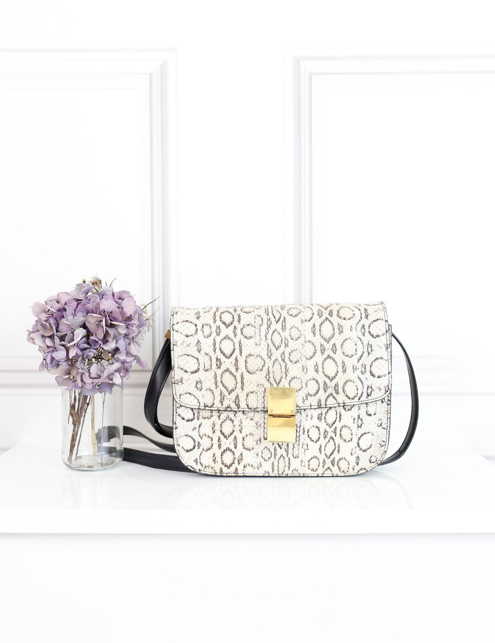 Celine multicolour the classic bag in python- My Wardrobe Mistakes