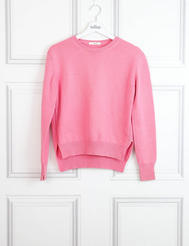 Celine pink cashmere pullover with round neck 6UK- My Wardrobe Mistakes