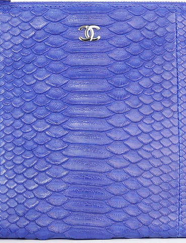 CHANEL ACCESSORIES CHANEL Exotic Leather Small O Case