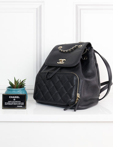CHANEL BAGS One size / Black CHANEL Business Affinity Backpack