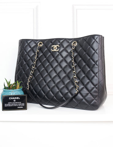 CHANEL BAGS One size / Black CHANEL Large Classic Tote Bag
