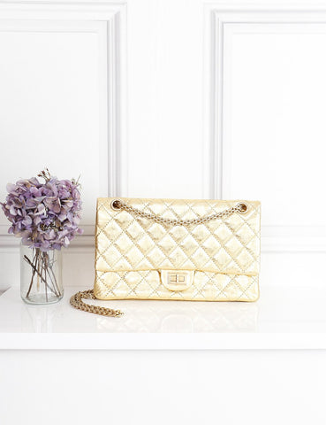Chanel gold 2.55 Reissue Flap bag Chanel gold 2.55 Reissue flap bag- My Wardrobe Mistakes
