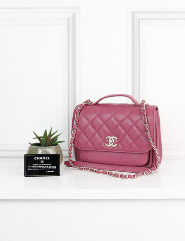 CHANEL BAGS One size / Pink CHANEL Caviar Quilted Business Affinity Flap Bag- ciclamino