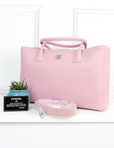 CHANEL BAGS One size / Pink CHANEL Executive Cerf Tote Bag XL in pink leather