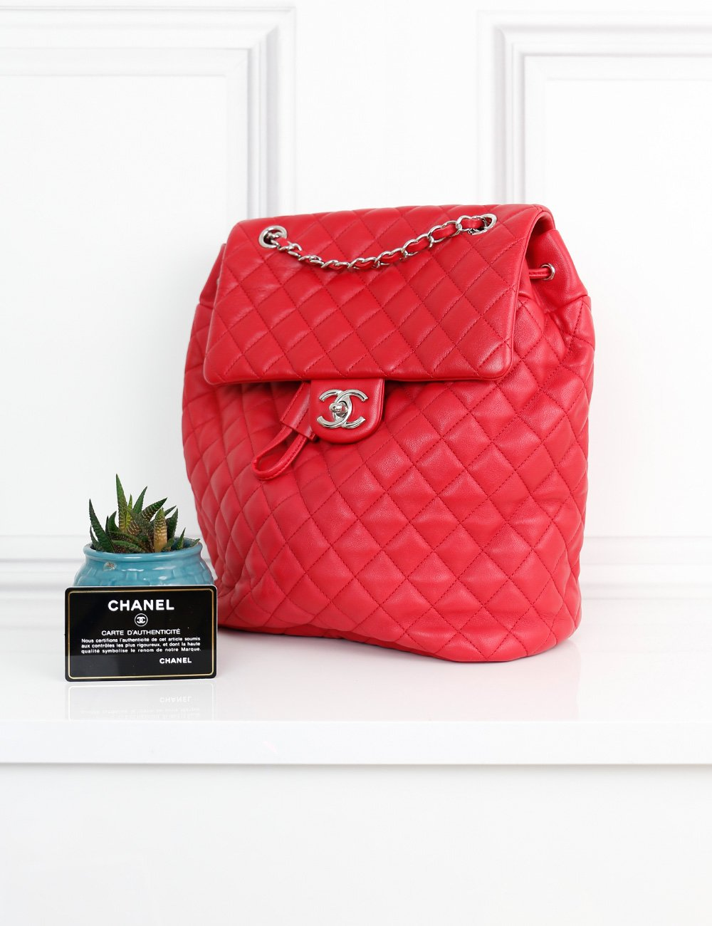 CHANEL BAGS One size / Red CHANEL Urban Spirit Backpack