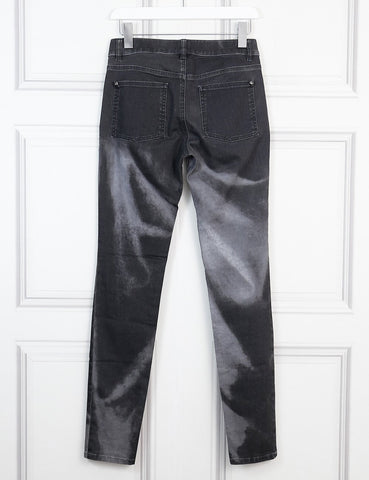 Chanel grey washed effect jeans 6Uk- My Wardrobe Mistakes