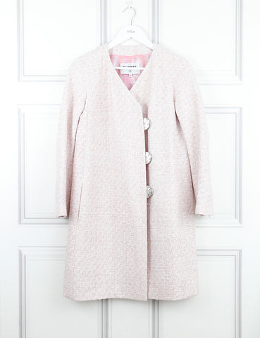 Chanel long pink coat 8Uk- My Wardrobe Mistakes