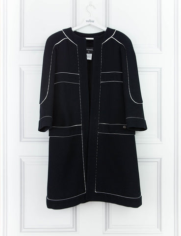 CHANEL CLOTHING Mid-length tailored coat