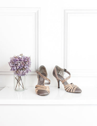 CHANEL Satin sandals with snakeskin details 2Uk- My Wardrobe Mistakes
