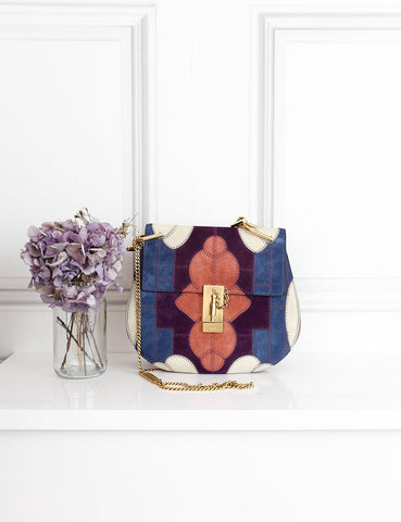 Chloe multicolour Drew patchwork bag- My Wardrobe Mistakes