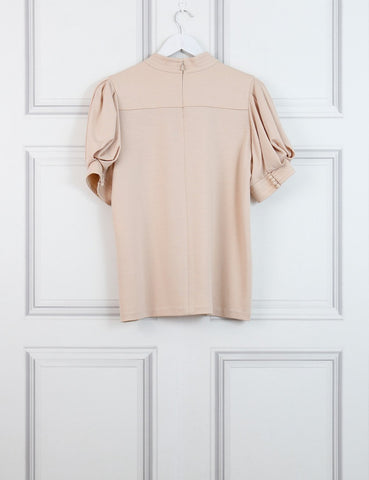 Chloe pink woollen top 10Uk