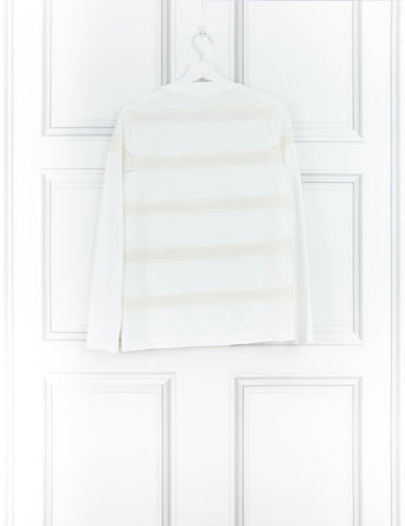 CHLOE CLOTHING Long-sleeve white cotton top 10UK- My Wardrobe Mistakes