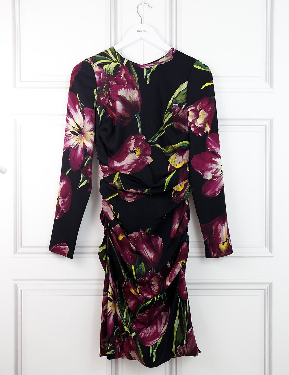 Dolce&Gabbana multicolour tulip print dress 8UK- My Wardrobe Mistakes