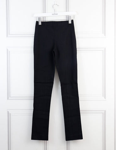 Donna Karan black leggings trousers 4Uk