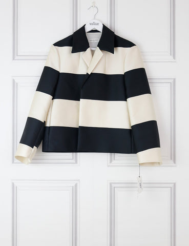 DRIES VAN NOTEN CLOTHING 6UK-38FR-34FR / Multicolour DRIES VAN NOTEN Rolta striped short jacket