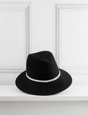 EUGENIA KIM ACCESSORIES Bianca Cord Detail Wool Felt Hat