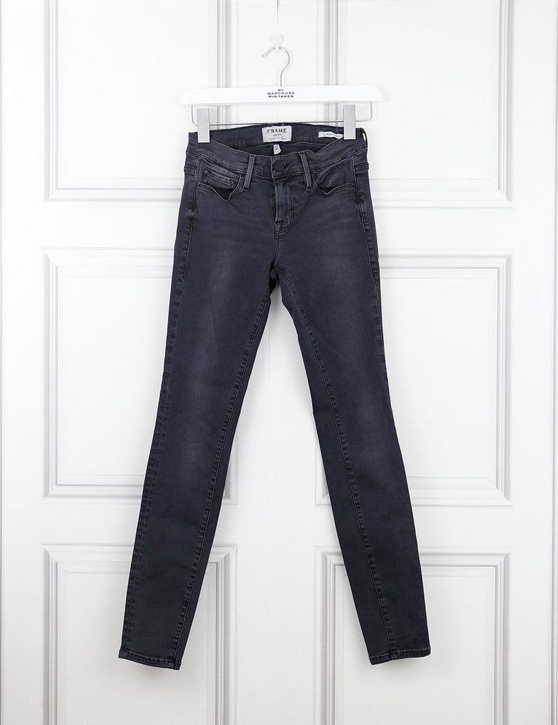 Frame grey jean le skinny de Jeanne 8UK- My Wardrobe Mistakes