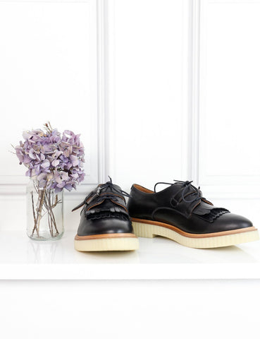 FRATELLI ROSSETTI black brogues 8UK- My Wardrobe Mistakes