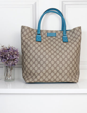 Gucci coated GG monogram tote bag