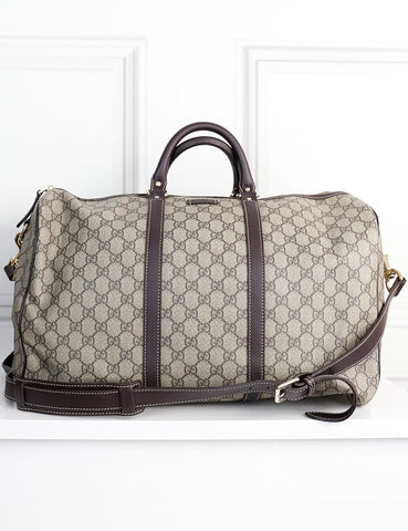 Gucci multicolour Joy Travel Monogram coated bag- My Wardrobe Mistakes