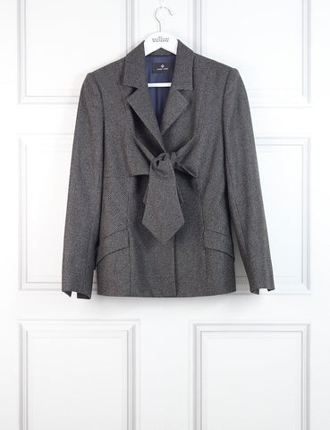 HARDY AMIES Knot tie blazer 12Uk- My Wardrobe Mistakes