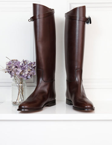 Hermes brown 5uk riding boots- My Wardrobe Mistakes